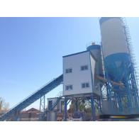 Стационарный бетонный завод HZS 25